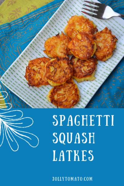 Spaghetti Squash Latkes