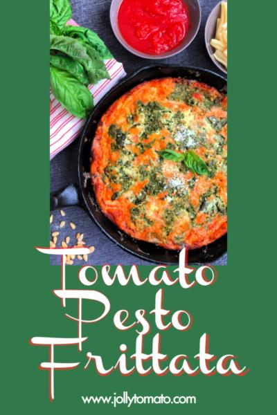 tomato pesto frittata