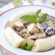 banana waldorf salad