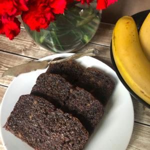 Chocolate Buckwheat Banana Bread