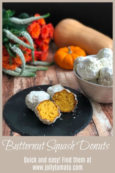 Quick and easy butternut squash donuts