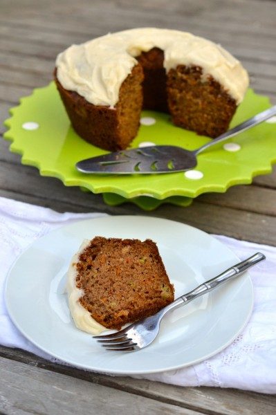 celery carrot tea cake