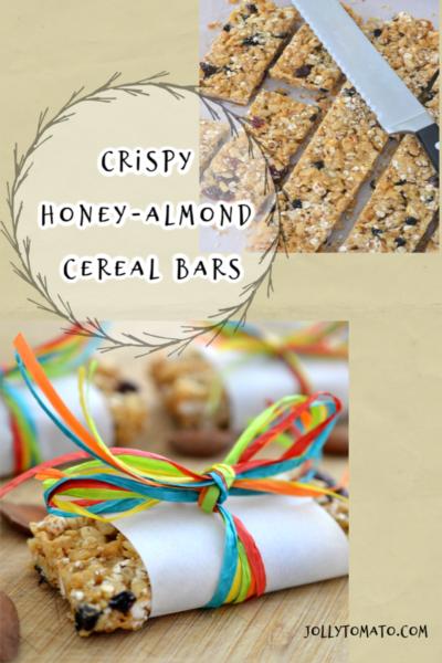 Honey-Almond Cereal Bars