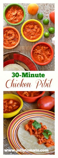 30-Minute Chicken Pibil