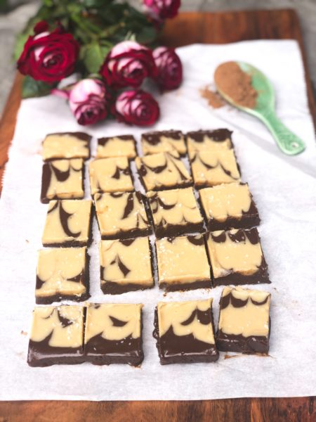 tahini fudge
