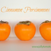 cinnamon persimmons