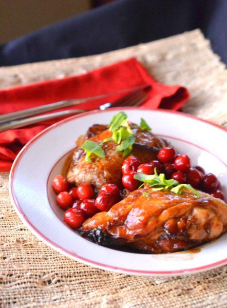 Cranberry Molasses Chicken