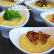 creamy polenta bowls