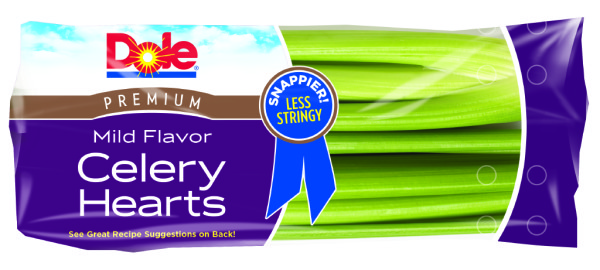 Dole celery hearts
