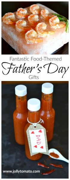 Fantastic food-themed Father's Day gifts - treat Dad to something special!