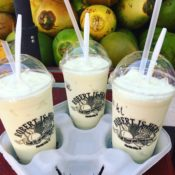 key lime milkshakes