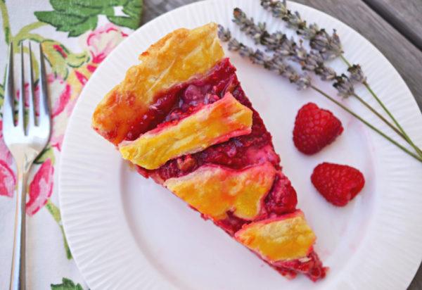 raspberry lavender