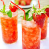 Strawberry Virgin Mojitos
