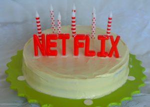 netflix cake