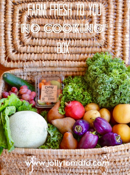 No Cooking Box from Farm Fresh To You