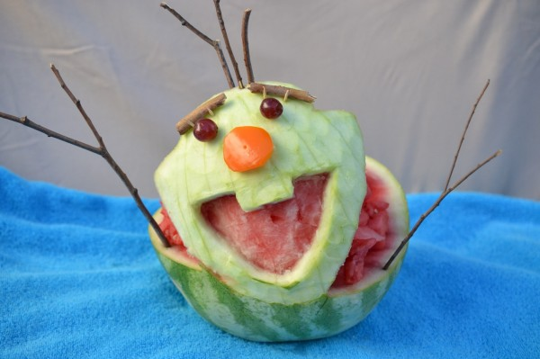 fun with watermelon carving