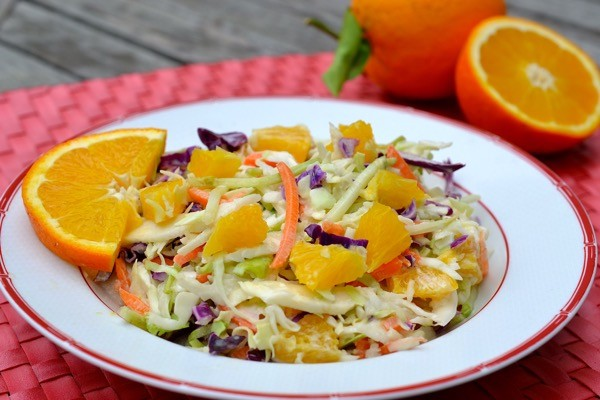 orange coleslaw