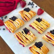 patriotic puff pastry