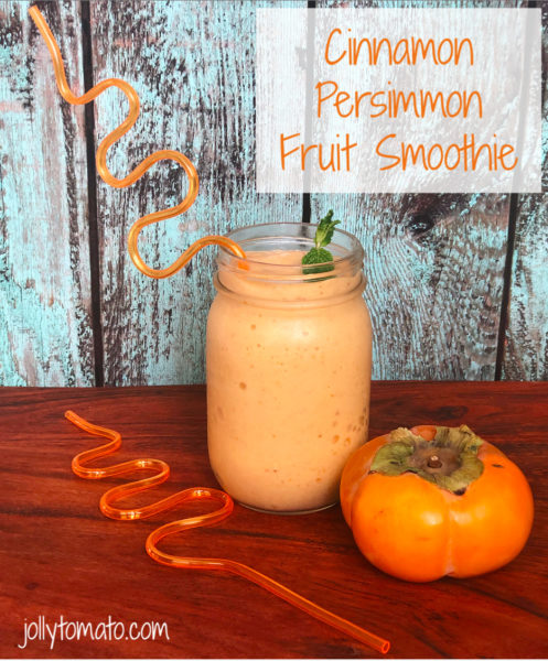 Cinnamon Persimmon Fruit Smoothie