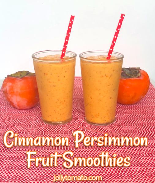 cinnamon persimmon fruit