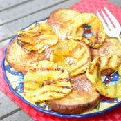 Pineapple Coconut French Toast