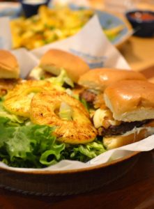 Pineapple Sliders from Islands