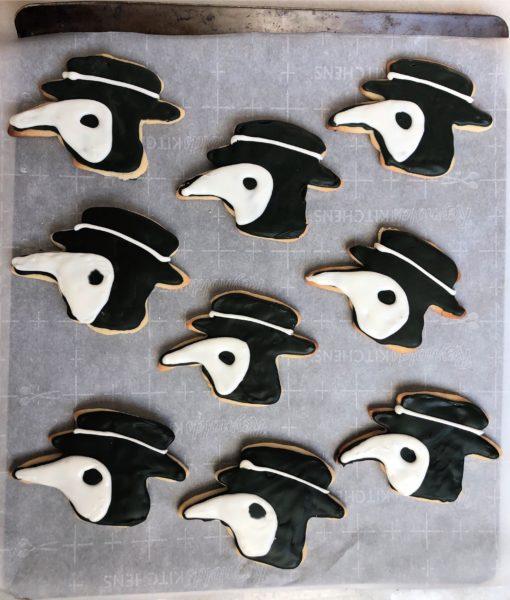 Plague Doctor Cookies