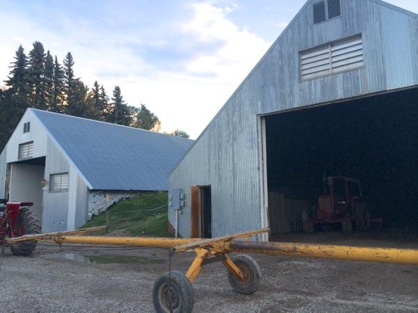 potato sheds