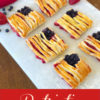 Patriotic Puff Pastry Flags