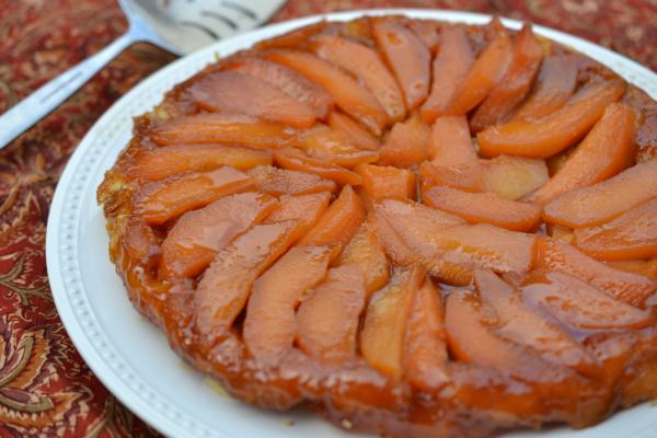 quince tart