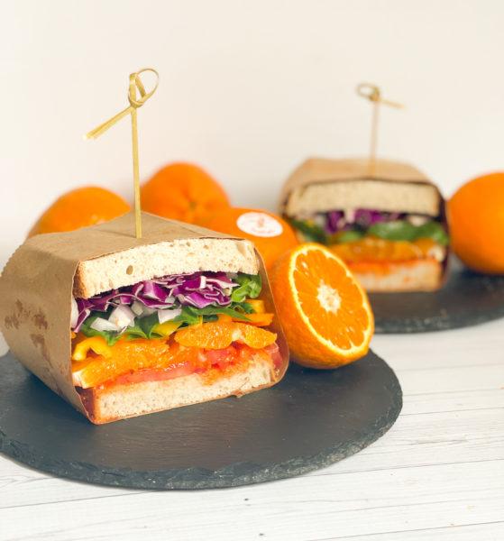 Rainbow Sandwich with Ojai Pixies