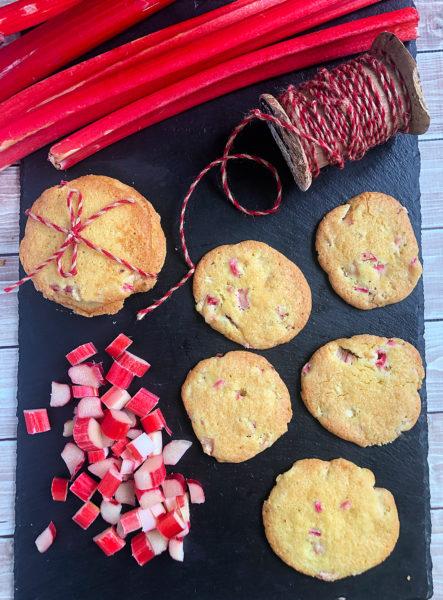 Rhubarb Lemon Cookies