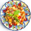 Sheet Pan Panzanella Salad