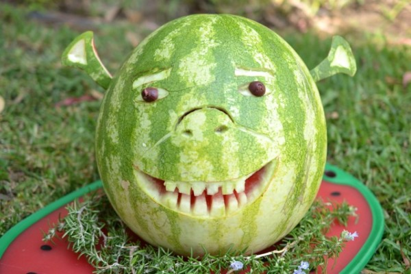 easy watermelon carving ideas