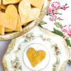 Golden Heart Springerle Cookies