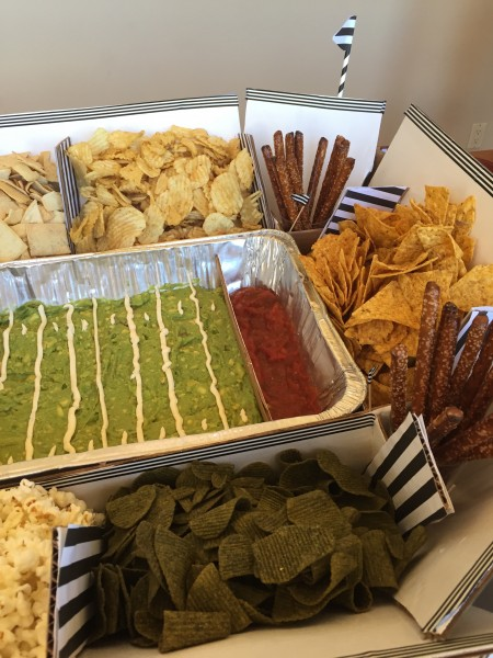 Inside the snackadium