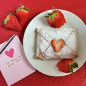 strawberry love letter pastries 2