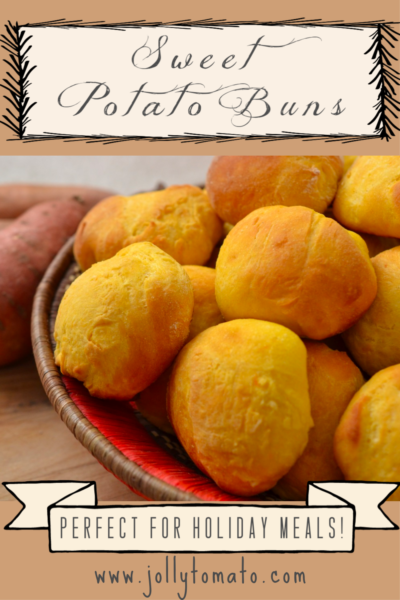 Sweet Potato Buns - Perfect for the holidays!