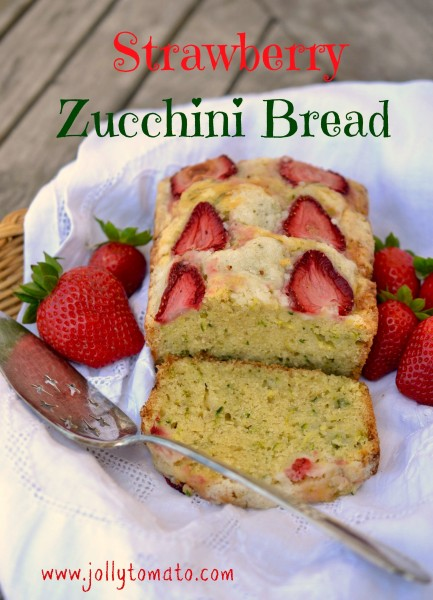 Strawberry Zucchini Bread