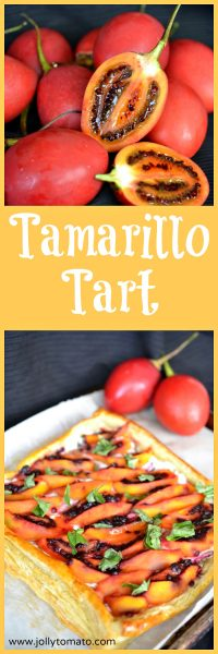 Discover the tamarillo, or tree tomato, which makes a beautiful savory tart.