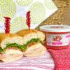 Turkey Subs with Watermelon Jicama Salsa