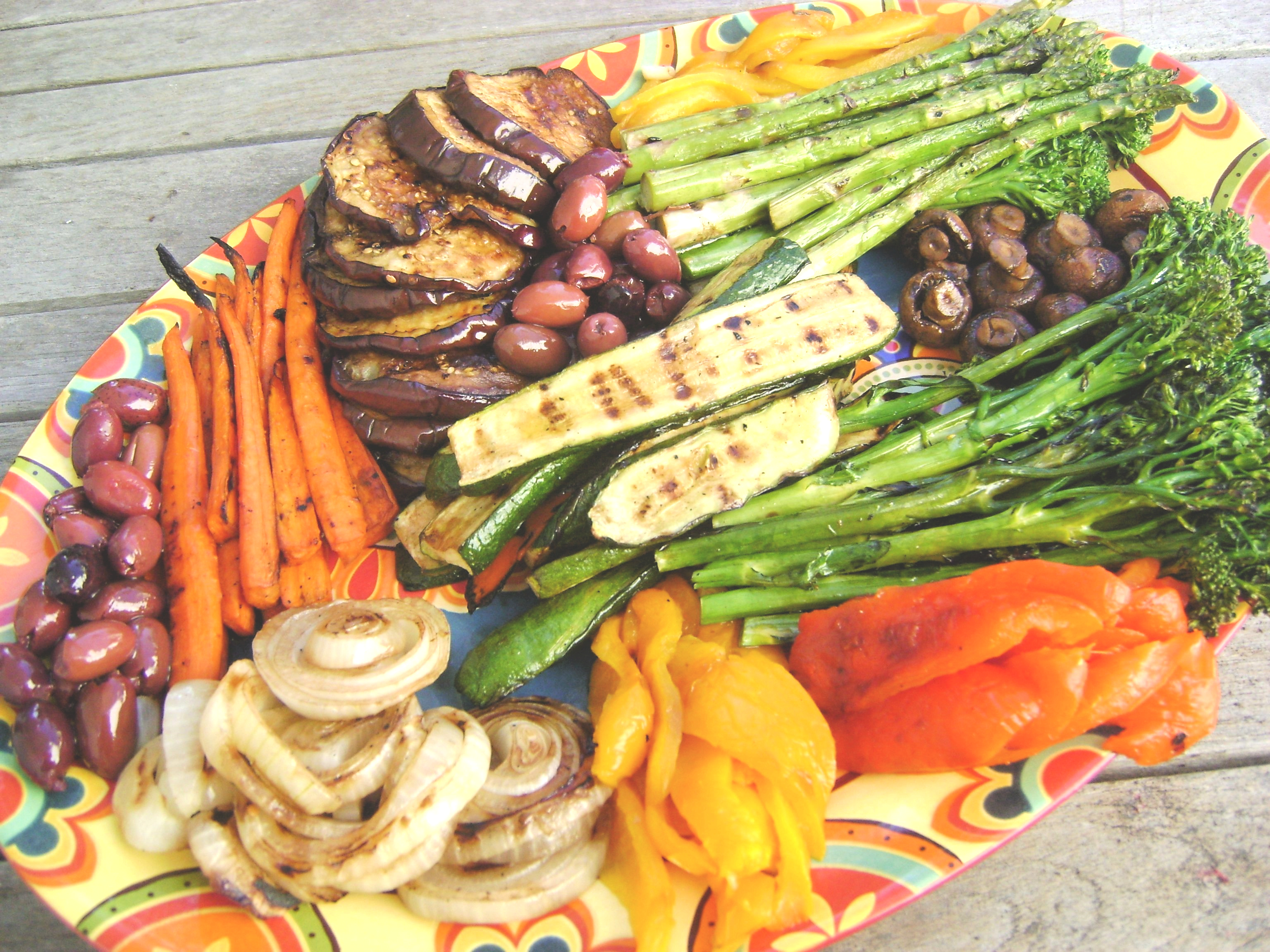 Go Grill Crazy With A Grilled Veggie Platter Jolly Tomato