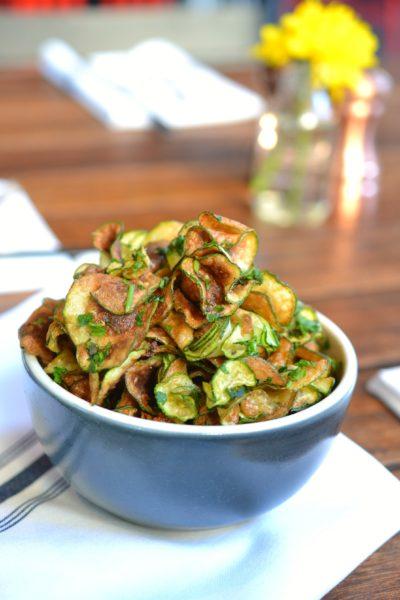 Zucca (Zucchini) Chips